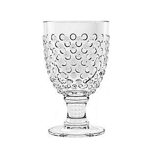 Tarhong 17 oz Hobnail Goble Acrylic Glass (Set of 6), , large