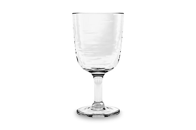 Tarhong 13.5 oz. Foundry Goblet Acrylic Glass (Set of 6), , large