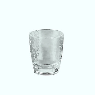 Tarhong 14.1 oz. Hammered DOF Glass (Set of 6), , rollover