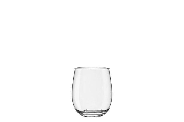 Tarhong 18 oz Montana Tritan Stemless Glass (Set of 6), , large