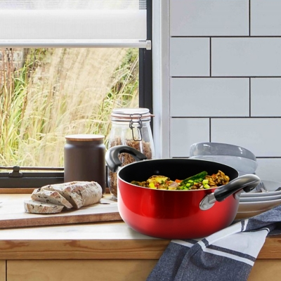 Better Chef 3-Quart Aluminum Dutch Oven, , large