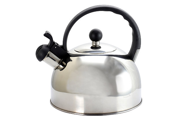 Gibson Springberry 2.25 Qt. Stainless Steel Kettle, , large