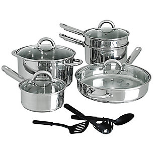 Cusine Select Abruzzo Stainless Steel 12 Piece Cookware Set, , rollover
