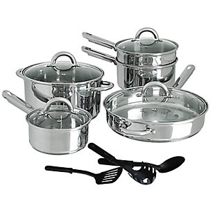 Cusine Select Abruzzo Stainless Steel 12 Piece Cookware Set, , large