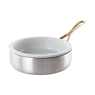Gibson Home Noble Taste 5 Inch Mini Aluminum Frying Pan with Ceramic Insert, , large