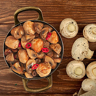 Gibson Home Normandie 8 Piece 4 Inch Stainless Steel Mini Dutch Oven, , rollover