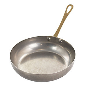 Gibson Home Normandie 5.5 Inch Stainless Steel Mini Frying Pan In Silver and Gold, , large