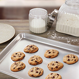 Oster 15 Inch x 10.5 Inch Baker's Glee Aluminum Cookie Sheet, , rollover