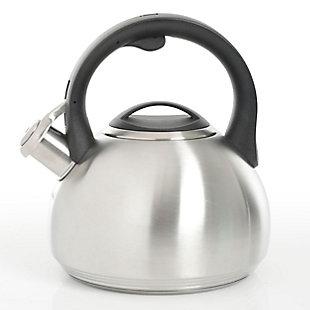 Kenmore Halsted Energy Saving 2.1 Quart Stainless Steel Tea Kettle, , large