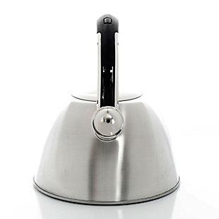 Mr Coffee Belgrove 2.5 Quart Whistling Tea Kettle in Copper, Metallic, large