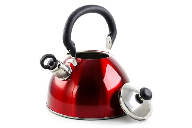 Mr Coffee Morbern 1.8 Quart Tea Kettle in Red, , large