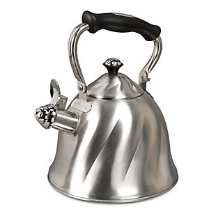 Mr Coffee Alberton Tea Kettle in Brushed Stainless Steel, , large