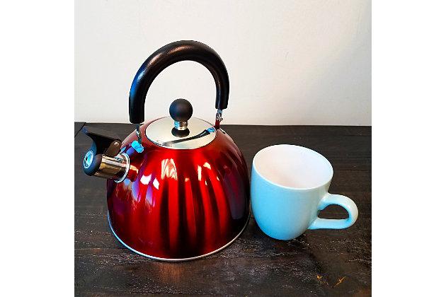 Mr. Coffee Twining 2.1 Quart Pumpkin Tea Kettle in Red, , large