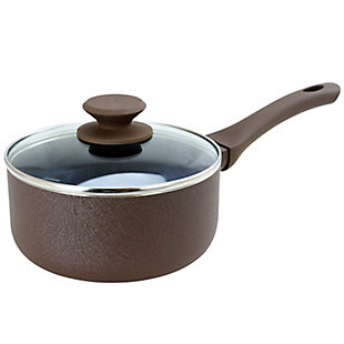 Oster Ashford 2 Quart Sauce Pan with Lid in Brown, , large