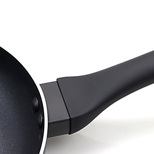 Oster Ashford 10 Inch Aluminum Non-Stick Frying Pan in Black, , large