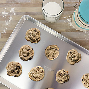 Oster 17 Inch x 12 Inch Baker's Glee Aluminum Cookie Sheet, , rollover