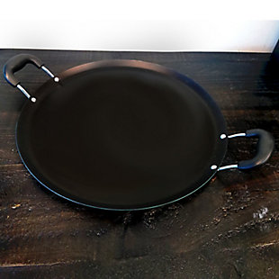 Oster Cocina Zadora 14 in. Carbon Steel Comal Pan in Teal, , rollover