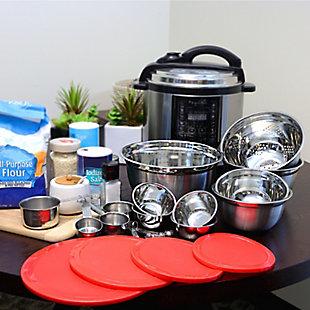 Sunbeam Branfield 21 Piece Kitchen Prep Set with Measuring Accessories, , rollover