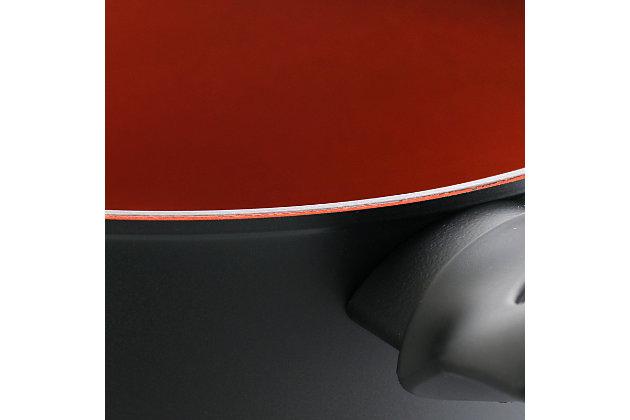 Tosca Terra-Cotta 4.75 Quart Aluminum Nonstick Dutch Oven, , large