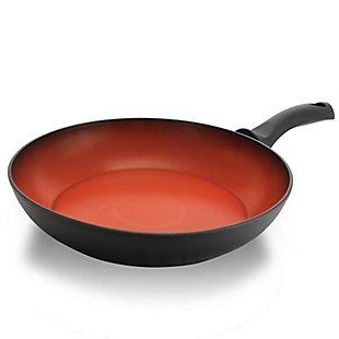 Tosca Terra-Cotta 11 Inch Aluminum Frying Pan, , large