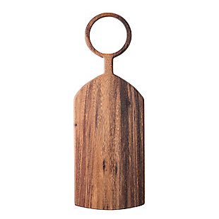 Bloomingville Brown Acacia Wood Cutting Board, , rollover