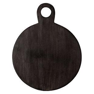 Bloomingville Black Acacia Wood Tray/Cutting Board, , large