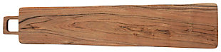 Bloomingville Rectangle Acacia Wood Cheese/Cutting Board with Square Handle, , large
