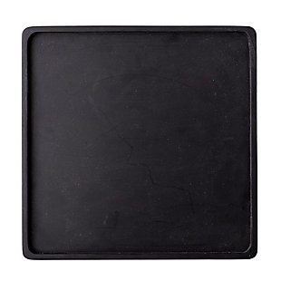 Bloomingville Black Square Acacia Wood Tray, , rollover