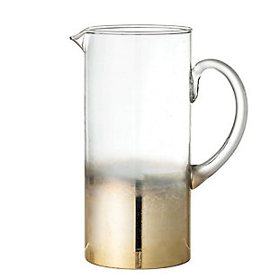 Bloomingville Gold Ombre Glass Pitcher, , large