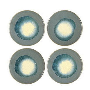 Creative Co-Op Stoneware Reactive Glaze Coasters, Set of 4, , large
