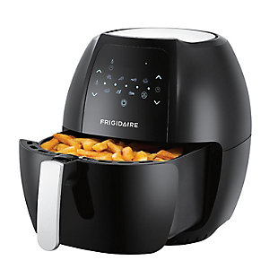 Frigidaire 7.7L Digital Air Fryer with Adjustable Thermostat - Black, , rollover