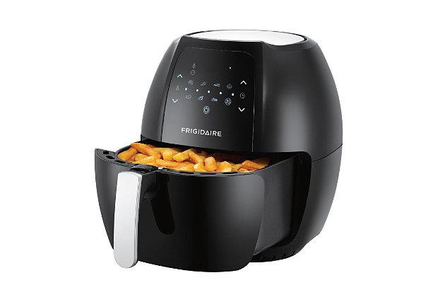 Frigidaire 7.7L Digital Air Fryer with Adjustable Thermostat - Black, , large