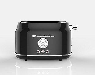 Frigidaire 2 Slice Retro Toaster - Black, Black, large