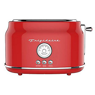 Frigidaire 2 Slice Retro Toaster - Red, Red, large