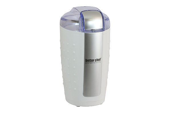 Better Chef Coffee Grinder, White, large