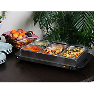 Megachef Buffet Server and Food Warmer, , rollover