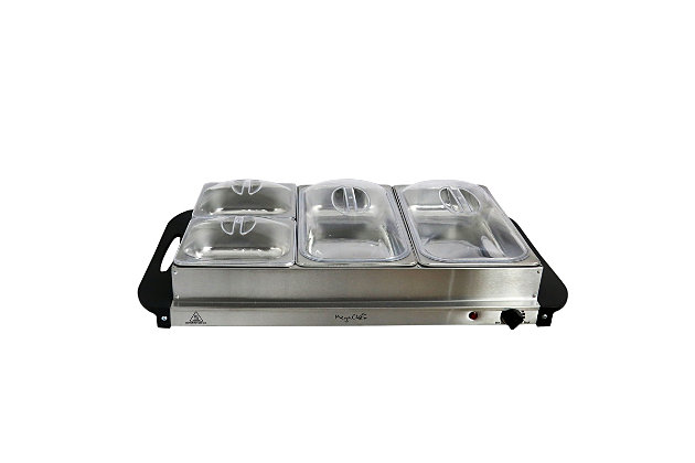 Megachef Buffet Server and Food Warmer, , large