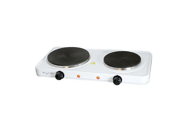 Megachef Portable Dual Burner Cooktop Buffet Range, , large