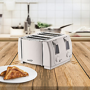 Brentwood Four Slice Toaster, , rollover