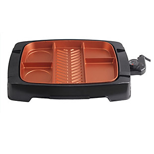 Brentwood Multi-Portion Nonstick Indoor Grill, , large