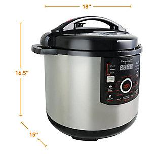Megachef 12 Quart Pressure Cooker, , large