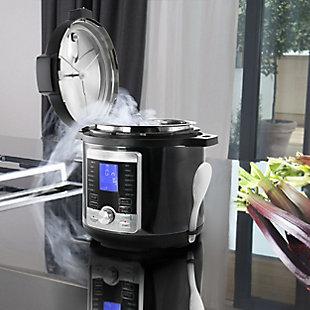Megachef 6 Quart Pressure Cooker, , rollover