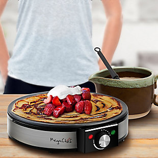 Megachef Nonstick Crepe and Pancake Griddle, , rollover