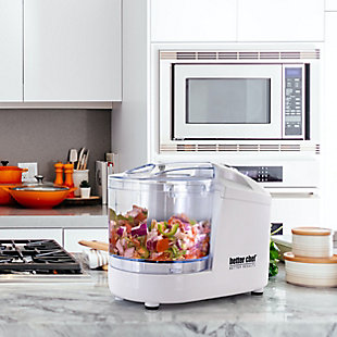 Better Chef 12 Ounce Compact Chopper in White, , rollover