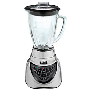 Oster Pro 500 900 Watt 7 Speed Blender in Chrome with 6 Cup Glass Jar, , large