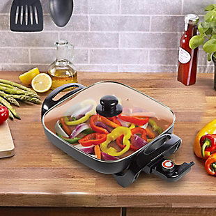 Brentwood Nonstick Electric Skillet, , rollover
