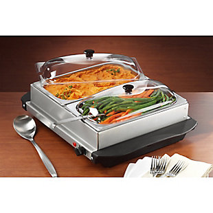 Brentwood Buffet Server and Warming Tray, , rollover