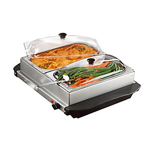 Brentwood Buffet Server and Warming Tray, , large