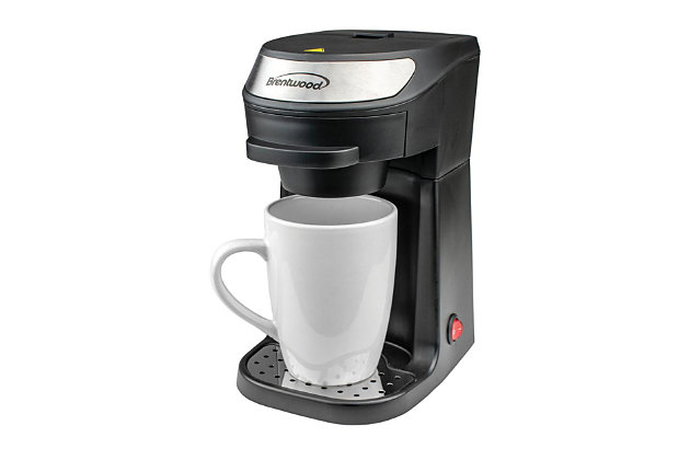 Brentwood Single Serve Coffee Maker and Mug, , large