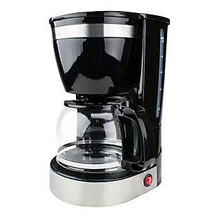 Brentwood 10 Cup 800 Watt Coffee Maker in Black, , large